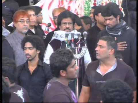 19 TH SAFER  PART 4 2014 ANJUMAN E MASOOMEEN MIR SABER ALI ZAWAR