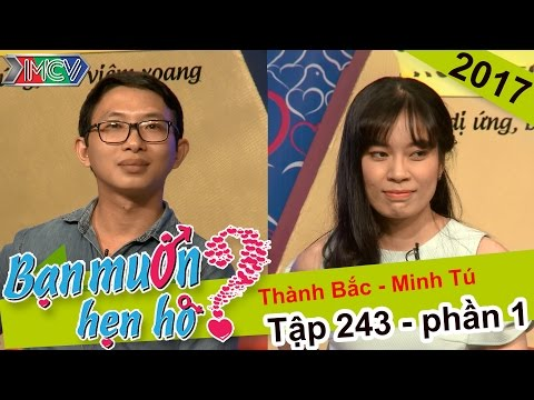 Tìm bạn gái cho chàng trai háo hức muốn vợ đến đỉnh điểm | Thành Bắc - Minh Tú | BMHH #243