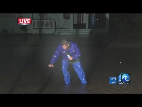 Team Coverage of Hurricane Arthur from OBX