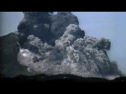 """video"" of Mt. Saint Helens eruption"