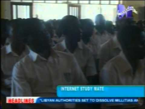 Internet Study Mate program launced in Accra for Senior High School students