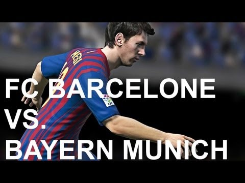 FC Barcelone vs Bayern Munich - FIFA 13 Prono