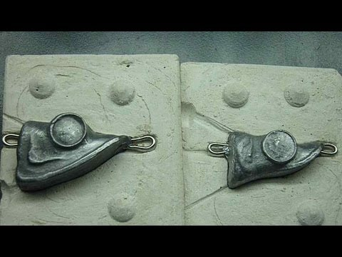Как сделать форму для грузил из свинца.