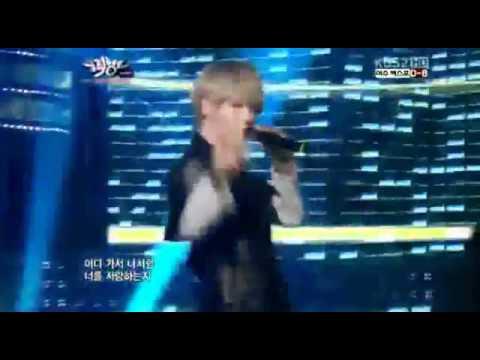 120504 Supernova - Stupid Love @ Music Bank