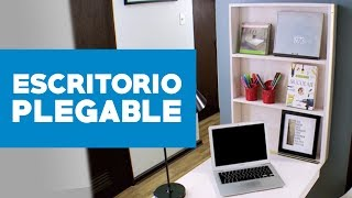 Construir un escritorio plegable