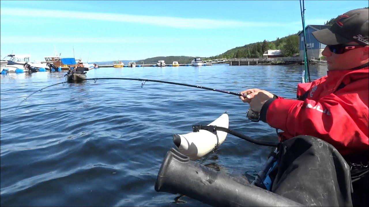 Hobie kayak fishing for pollack youtube for Youtube kayak fishing
