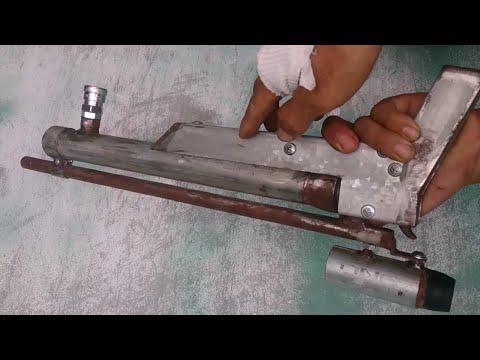 chế súng pcp ngắn p1 - pcp guns pistol