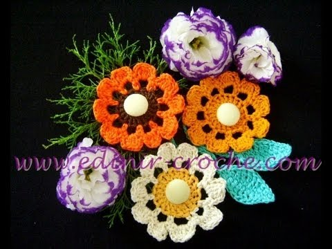 CROCHE AULA FLOR MODELO 055