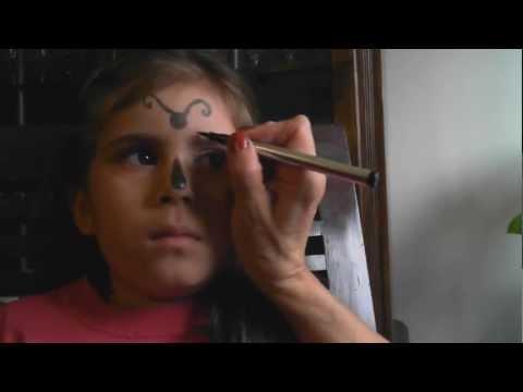 Maquillaje Infantil: Linda Mariposa - Pilar Pantoja  HD