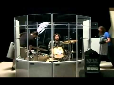 Drum Enclosure - Isolation Booth Demonstration