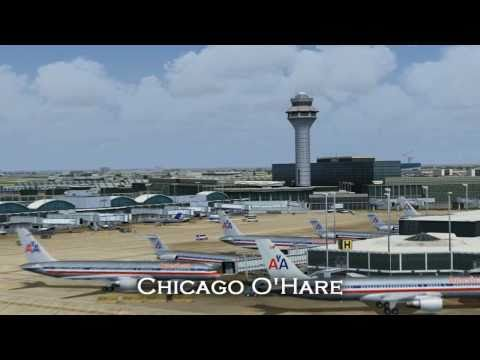 Two Airlines, One Destination - an FS2004 movie