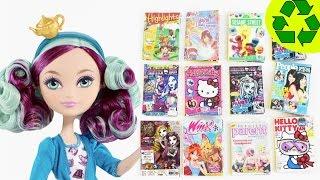 Hacer revistas para tus muñecas