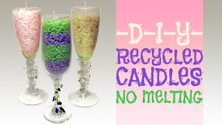 How To Recycle Your Old Candles (No Melting)