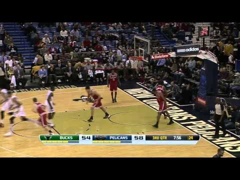 Milwaukee Bucks vs New Orleans Pelicans | March 7, 2014 | NBA 2013-14 Season