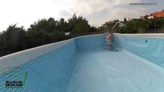 hướng dẫn xây dựng bể bơi gia đình- bể bơi intex chính hãng