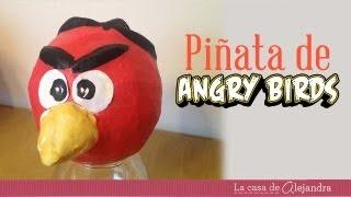 Cómo Hacer Una Piñata De Angry Birds How To Make A