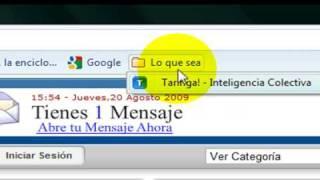 Cómo Usar El Google Chrome Part 1