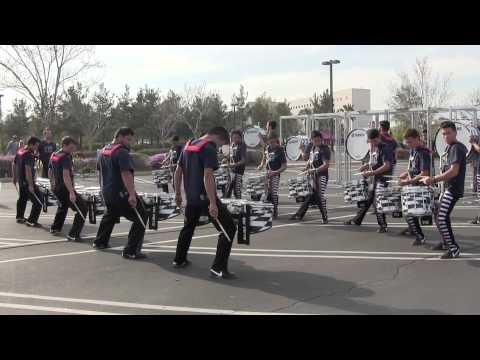 Pulse Percussion - San Bernardino 2014 - Full Run in the lot