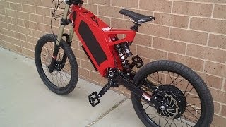 Stealth Bomber Electric Bicycle Ride