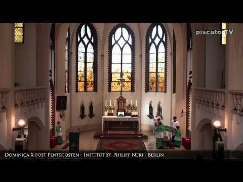 Dominica X post Pentecosten 04 Gloria - Traditional Latin Mass