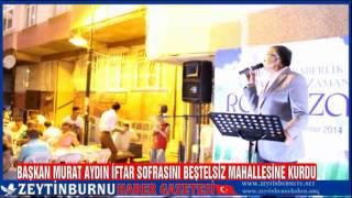 Zeytinburnu Belediyesi Sokak İftarı Beştelsiz Mahallesi