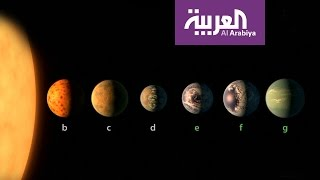 شاهد الكواكب السبعة المكتشفة والتي تشبه الأرض
