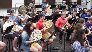 University of Memphis Wind Ensemble Concert:  September 23, 2016