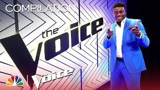 Kirk Jay's Journey on The Voice - The Voice 2018 (Compilation)
