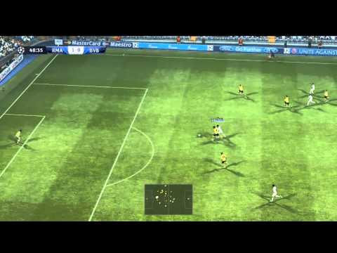 Real Madrid Vs Borussia Dortmund | UEFA CHAMPIONS LEAGUE 2012/13 | PES 2013 |