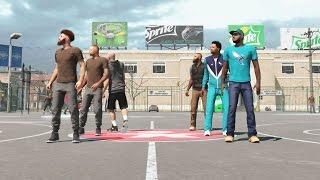 NBA 2k15 MyPARK 3vs3 Gameplay SICKEST ALLEY OOP Yet