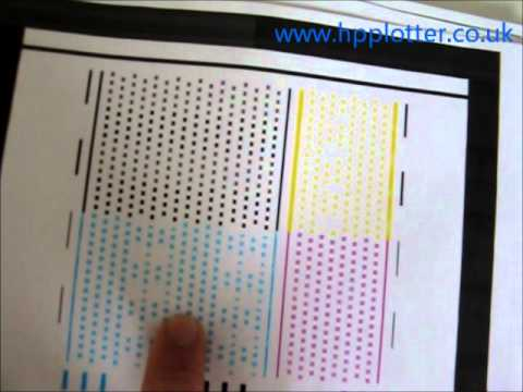 Designjet 100 - 130 Series - Printhead alignment on your printer