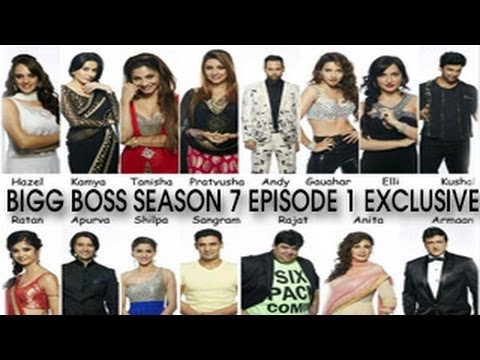 Bigg Boss 7 - EPISODE 1 15th September 2013 FULL EPISODE Premier Night - 15 CONTESTANTS