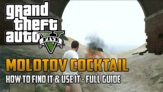 "*NEW* GTA 5: Molotov Cocktails Location + How To Use Them ""Grand Theft Auto 5"" Secret Weapons"