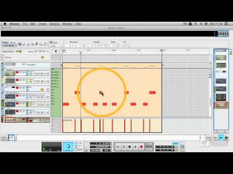 Reason 6 107: Beat Design Basics - 5 Using the Sequencer