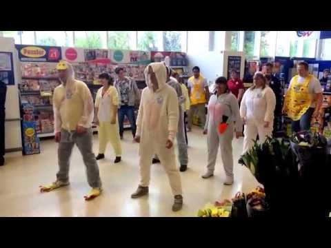 Tescos Easter flashmob