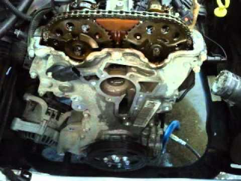 Vauxhall Corsa 2004 1.2 Z12XEP Timing Chain Fail - YouTube