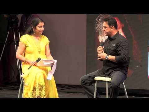 Interesting question and Answer Kamal Haasan & Suhasini Maniratnam 11th CIFF 2013