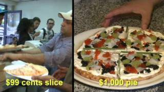 Whats On A 1000 dollar pizza?