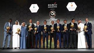 Juventus awarded at the Globe Soccer Awards in Dubai