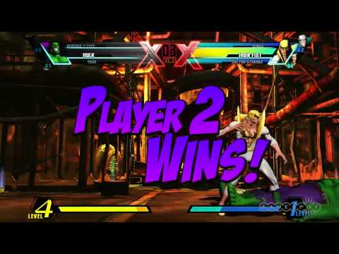 Ultimate Marvel vs. Capcom 3 - Gameplay - Iron Fist Character Moves (PS3, Xbox 360, Vita)