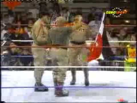 Re Debut Iron Sheik Col.Mustafa