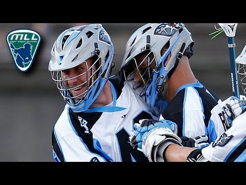 MLL Week 13 Highlights: Ohio Machine vs Boston Cannons