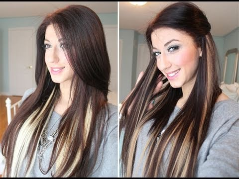 Highlighting hair extensions indian remy hair highlighting hair extensions 96 pmusecretfo Image collections