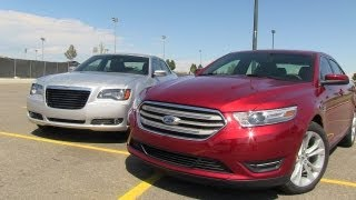 2013 Ford Taurus SHO Start Up, Exhaust, and In Depth Review videos