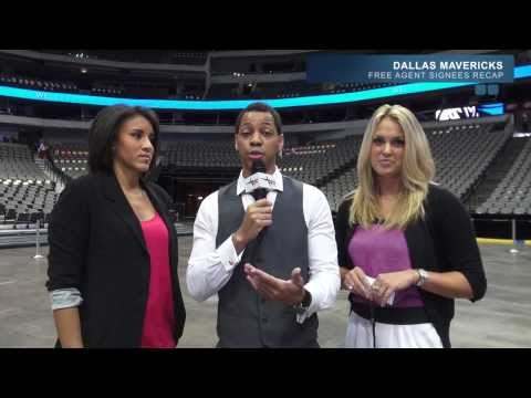 DALLAS MAVERICKS FREE AGENT SIGNEES PRESS CONFERENCE RECAP 2013