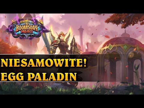 NIESAMOWITE! - EGG PALADIN - Hearthstone Decks std (The Boomsday Project)