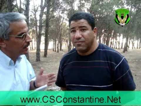 Interview avec Ounis, CSConstantine 2010
