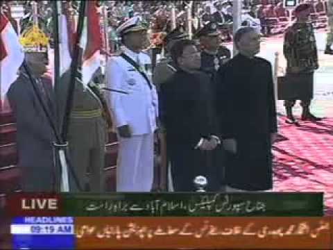FIRST TIME JF 17 flypast ON 23 MARCH 2007  TAKMEEL E PAKISTAN