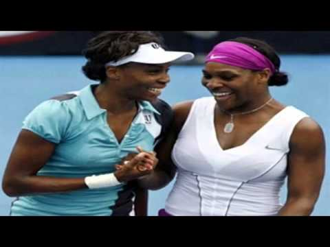 US Open tennis for women The Williams sisters Serena and Venus