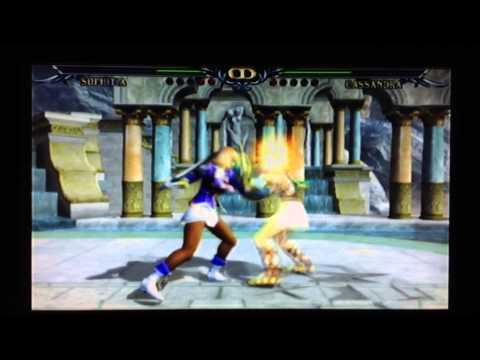 Soul Calibur III - SOPHITIA vs CASSANDRA